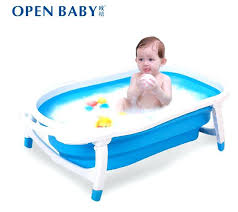 bathtub for newborn baby size8047225cmsuit for 0 4 years old babynewborn baby bath supplieslarge thick collapsible bathtub for newborn baby