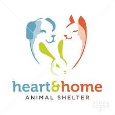 animal shelter logos. Modren Logos Heart And Home Animal Shelter  StockLogoscom Inside Animal Shelter Logos N