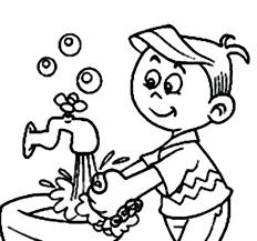 handwashing coloring page hand washing pages for printable kids handwashing coloring page