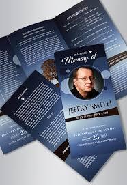 funeral flyer free funeral program templates by elegantflyer