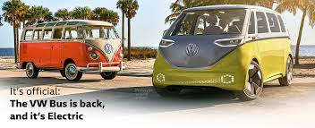 VW Bus Is Back with I.D. Buzz Concept Electric Vehicle - VW Dealer