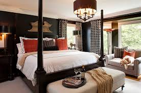 Modern traditional bedroom design Simple Modern Master View In Gallery Black Brings Dash Of Elegance To The Traditional Bedroom Design Mccroskey Interiors Decoist 10 Beautiful Bedrooms That Will Take You Back To Black