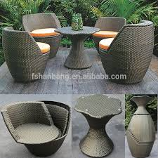 Factory Outlet Outdoor Rattan Resin Wicker Patio