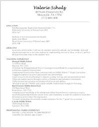 Example Resumes For Teachers Example Resumes For Teachers Teacher Resume Example Resume For