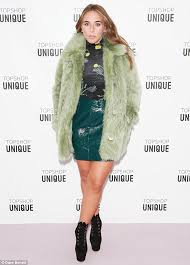 green dess chloe green was flying the flag for her father phillip as she