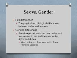 gender and sexuality sex vs