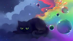 Cat Anime Computer Wallpapers on ...