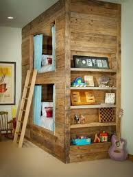 for the more ambitious pallet wood furniture designer is this bunk bed made entirely from pallet buy pallet furniture design plans
