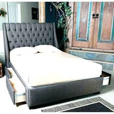 queen size platform bed with storage – oaklandgaragedoors.co