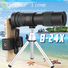 Portable <b>8-24</b> X 30 High Power Binoculars Handheld Waterproof <b>HD</b> ...