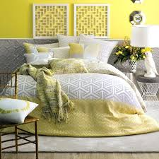 find this pin and more on bed linen house saffron yellow white grey quilt cover setgrey