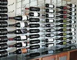 metal wine racks metal wall wine rack wall mounted