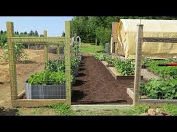 raised bed area expansion fencing