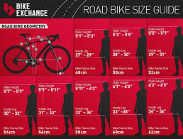 road bike size chart for s kids