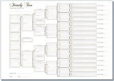 Family Tree Chart Non Fiction Ebay