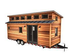 cider box tiny house rustic exterior