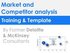 Market & Competitor Analysis Template In Ppt | Marketing ...