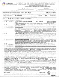 Real House Purchase Contract Form Arizona Residential Forms Estate ...