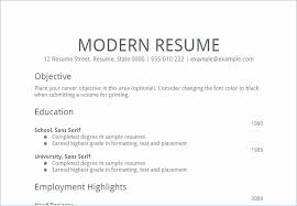 Simple Resume Example Gorgeous Simple Resume format Great A Simple Resume Example Sample A Simple