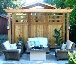 apartment patio privacy ideas. Apartment Patio Privacy Screen Ideas Deck Balcony Great Cedar Home Design Pict G