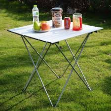 aluminum roll up table folding camping outdoor indoor picnic w bag heavy duty op2789 high quality table edge g china table cartoon suppl table scale