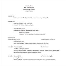 Chef Resume Template - 13+ Free Word, Excel, Pdf, Psd Format ...