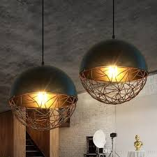 modern pendant lamps american industrial pendant lights fixture metal vintage hanging lamp home indoor lighting cafes pub bar drop light contemporary