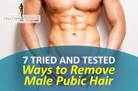 best ways to remove male hair