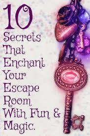 Escape Room Design Ideas 10 Secret Design Ideas To Enchant Your Escape Room With Fun