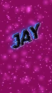 Jay as a ART Name Wallpaper!