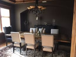 arhaus furniture atwell dining table torino dining chairs in tattle fog halstead leather side