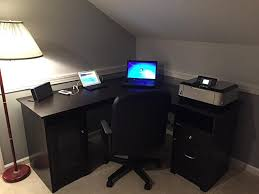 home office gaming computer. L Shaped Gaming Computer Desk List Home Office Or Experimental Picture O