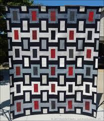 Summer Sewing Part 1: Graduation Quilt - Patchwork Sampler & masculine quilt Adamdwight.com