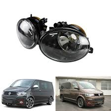 Caravelle Lighting Us 32 23 6 Off Angrong 1 Pair Front Fog Light Lamps No Bulb L R For Vw T5 Transporter Caravelle Multivan In Car Light Assembly From Automobiles