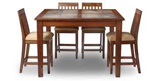 Oak Express Aspen 5 Pc Counter Height Dining Group D5 PKASCHBS