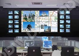 Small Picture monitor display zero bezel video wall Flexible structure design