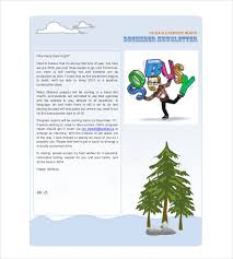 Holiday Newsletter Template 18 Free Jpg Psd Pdf Format