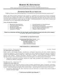 Engineering Resume Formats Electrical Engineering Resume Samples