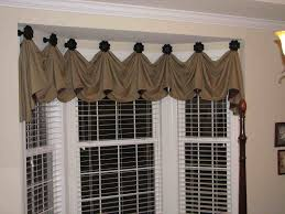Window Valance For Kitchen How To Make Swag Valances Jabot With Decorative Cording Sm L