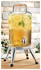 startling nantucket glass beverage dispenser on chair nantucket glass beverage dispenser for chair stand in mason