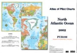 Atlas Of Pilot Charts North Atlantic Ocean Könyv Moly