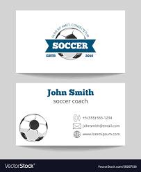 Soccer Business Card Soccer Business Card
