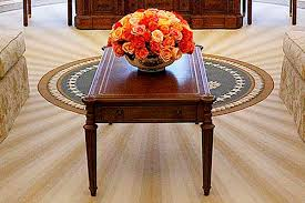 bush oval office. President George W Bush Oval Office Coffee Table D