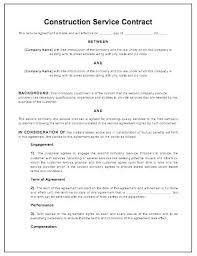 Home Construction Contract Template Callatishigh Info
