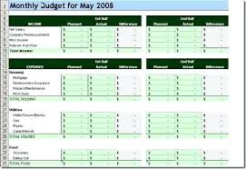 Sample Monthly Household Budget Simple Family Budget Template Free Printable Budget Worksheets