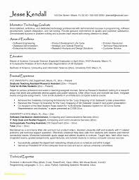Inspirational Resume Format For Graduate Students Download Good