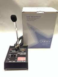 cb echo mic galaxy echo master power base microphone 4 pin cobra cb ham classic audio mic
