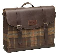 magiczoom window suede leather flapover briefcase