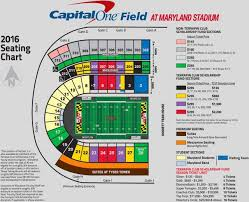 Byrd Stadium Seating Chart Seating Charts Football Ticket University Of Maryland