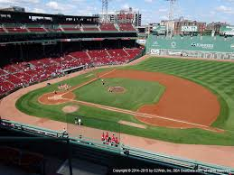 Red Sox Seating Chart Pavilion Box Fenway Park View From Pavilion Club 7 Vivid Seats